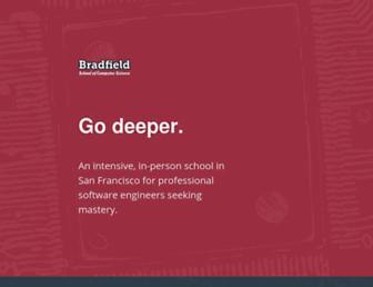 bradfieldcs.com screenshot