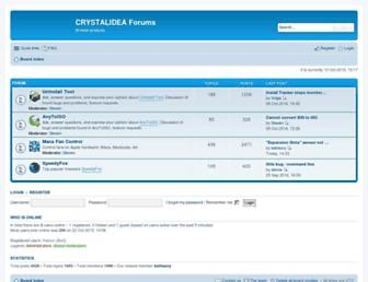 forums.crystalidea.com screenshot