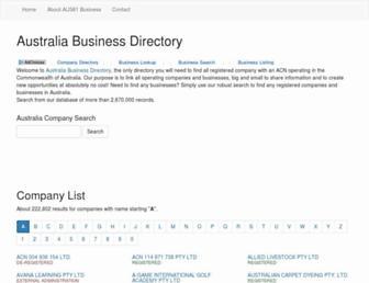 aus61business.com screenshot