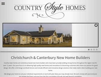countrystylehomes.co.nz screenshot