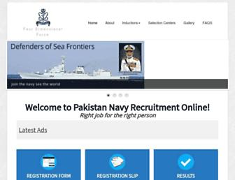 Thumbshot of Joinpaknavy.gov.pk