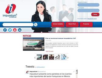 impuestum.com screenshot
