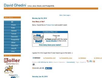 davidghedini.com screenshot