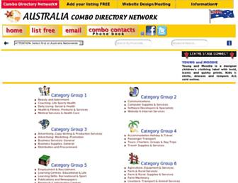 Thumbshot of Combodirectoryaustralia.info