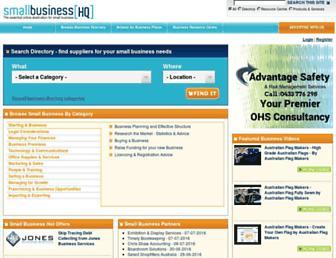 smallbusinesshq.com.au screenshot