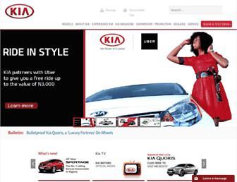 kiamotorsnigeria.com screenshot