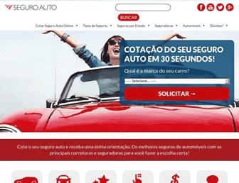 seguroauto.org screenshot