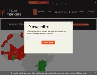 african-markets.com screenshot