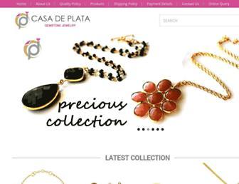 casadeplata.com screenshot