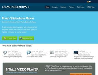 flash-slideshow-maker.com screenshot