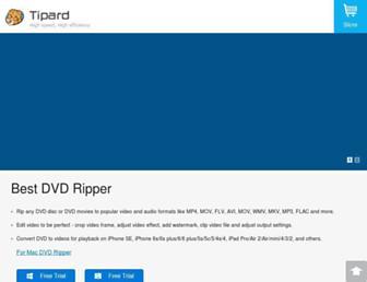 tipard.com screenshot