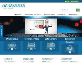 esds.co.in screenshot