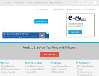 Thumbshot of Irs.com