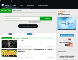 Thumbshot of Videoripper.me