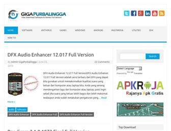 Thumbshot of Gigapurbalingga.com