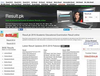 result.pk screenshot