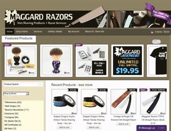 Thumbshot of Maggardrazors.com