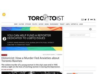 torontoist.com screenshot