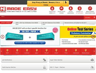 Thumbshot of Madeeasy.in