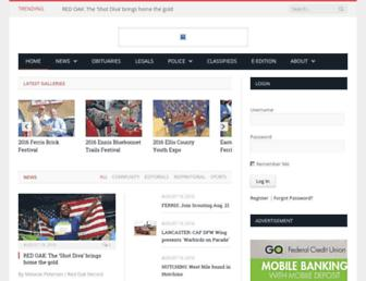 Thumbshot of Elliscountypress.com