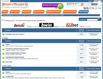 forum.sportytrader.com screenshot