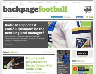 Thumbshot of Backpagefootball.com
