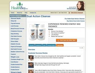 bodycleanse.herbalyzer.com screenshot
