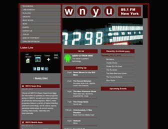 wnyu.org screenshot