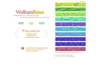 tones.wolfram.com screenshot