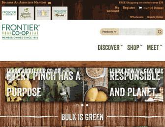 Thumbshot of Frontiercoop.com