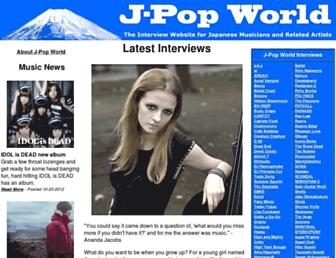 j-popworld.com screenshot