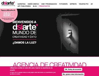 disiarte.es screenshot