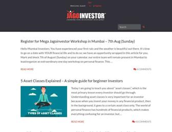 jagoinvestor.com screenshot
