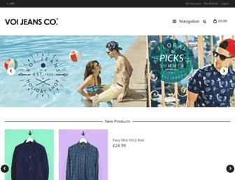 Thumbshot of Voijeans.com