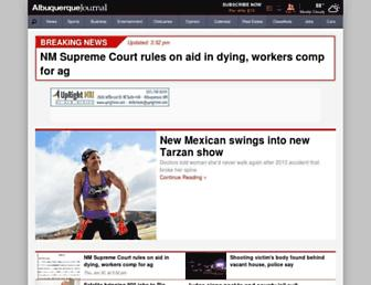 Thumbshot of Abqjournal.com