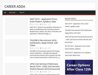 careeradda.com screenshot