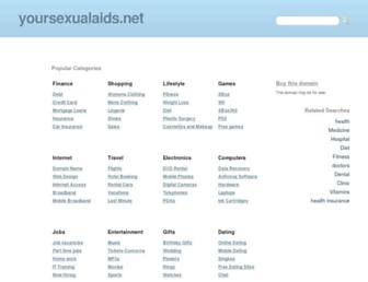 Main page screenshot of zydra.yoursexualaids.net