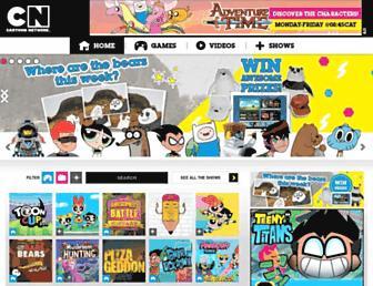 Thumbshot of Cartoonnetworkhq.com