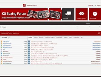 koboxingforum.com screenshot