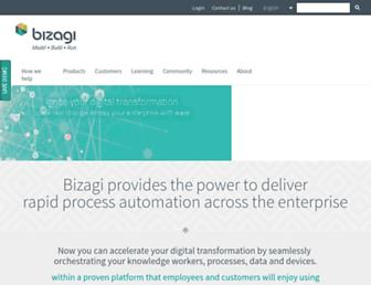 bizagi.com screenshot