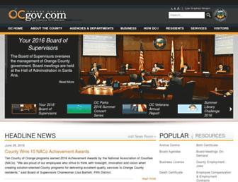 Thumbshot of Ocgov.com