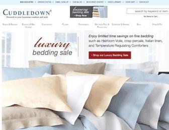 Thumbshot of Cuddledown.com