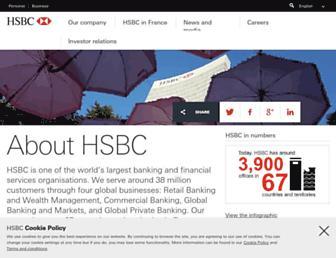 about.hsbc.fr screenshot