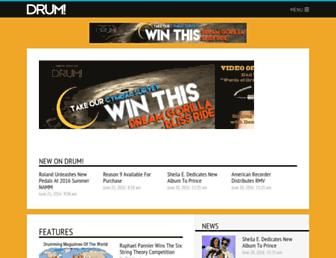 drummagazine.com screenshot