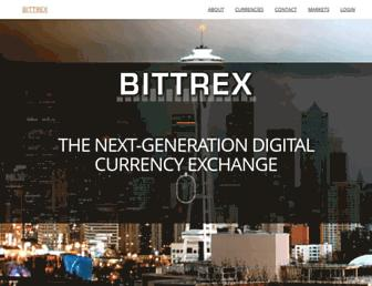 bittrex.com screenshot