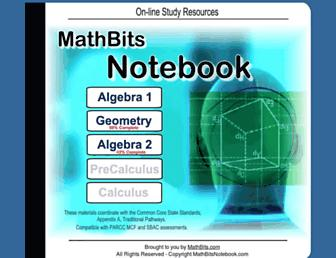 mathbitsnotebook.com screenshot