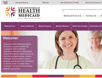 medicaid.utah.gov screenshot