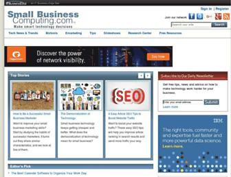 smallbusinesscomputing.com screenshot