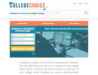 collegechoice.net screenshot