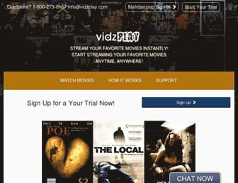 Thumbshot of Vidzplay.com